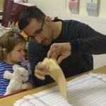 4 Eltern-Kind Projekt T-Shirt bügeln 3